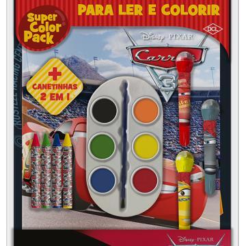 Super Color Pack - Carros 3 (DCL - Disney)