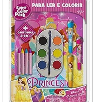 Super Color Pack - Princesas (DCL - Disney)