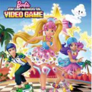Barbie em: Um mundo de videogame (Com 4 quebra cabeças)