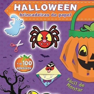 Halloween: Brincadeiras de papel (Roxo)