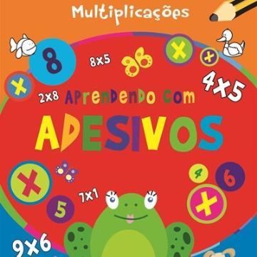 Aprendendo com adesivos: Multiplicações