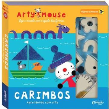 Arty Mouse: Carimbos (Aprendendo com arte)