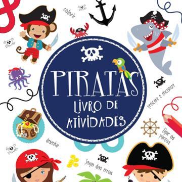 Livro de atividades: Piratas