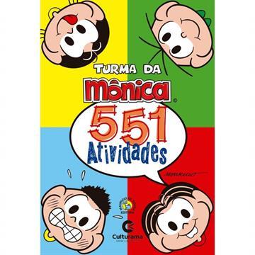 551 ATIVIDADES: TURMA DA MÔNICA