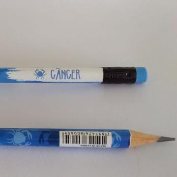 Lápis preto Signo Câncer Tris