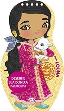 Vergara e Riba - Desenhe sua boneca marroquina