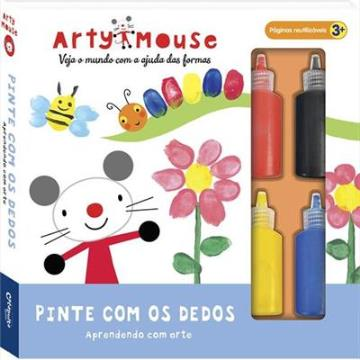 Arty Mouse: Pinte com os dedos