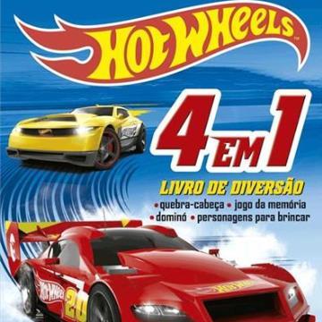 Hot Wheels - Livro de diversão (Com 4 quebra-cabeças)