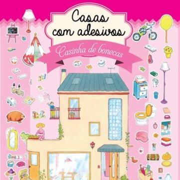 Casinha de bonecas (Coleção: Casas com adesivos)