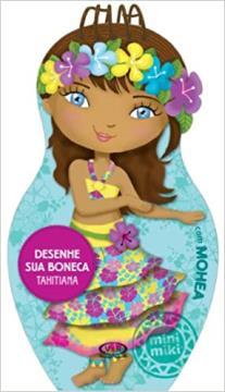 Desenhe sua boneca: Tahitiana