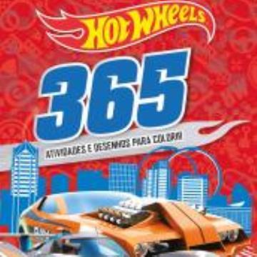 Hot Wheels: 365 atividades e desenhos para colorir