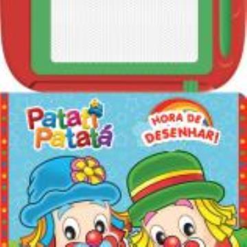 Patati Patata: Hora de desenhar! (Com Lousa magnética)