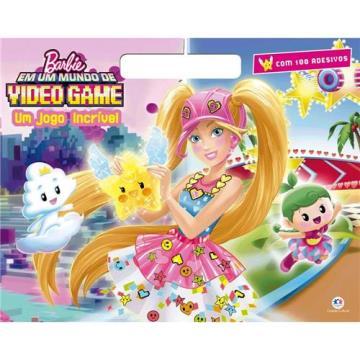 Megabloco: Barbie em um Mundo de Video Game - Um jogo incrível