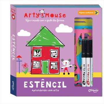 Arty Mouse: Estêncil (Aprendendo com arte)