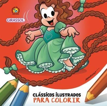 Rapunzel (Coleção: Clássicos ilustrados para colorir Turma da Mônica)