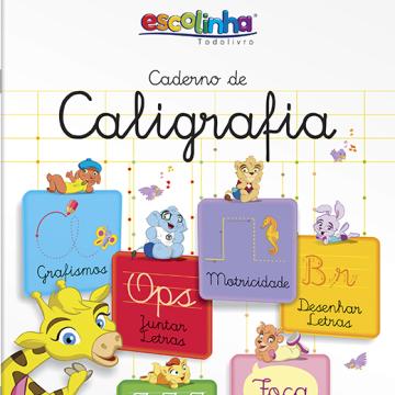 Escolinha:  Caderno de Caligrafia