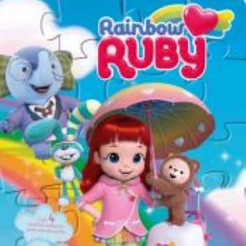 Rainbow Ruby - Cientista em ação! ( Com 4 quebra cabeças)