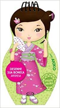 Desenhe sua boneca: Japonesa