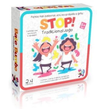 Tradicional jogo stop