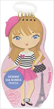 Desenhe sua boneca: Francesa
