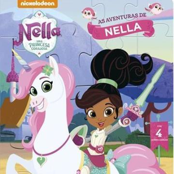 Nella, uma princesa corajosa - As aventuras de Nella (Com 4 quebra-cabeças)