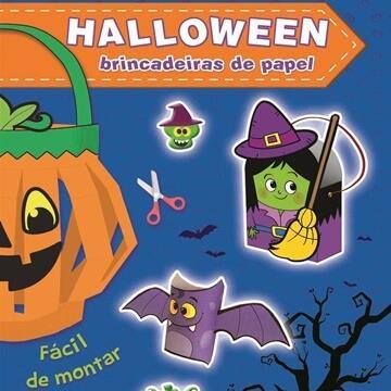 Halloween: Brincadeiras de papel (Azul)
