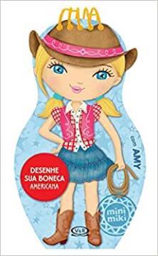 Vergara e Riba - Desenhe sua boneca americana