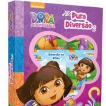 Dora, a aventureira - Pura Diversão (6 minilivros, quebra-cabeça)