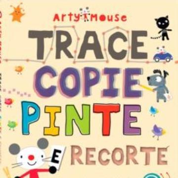 Arty Mouse: Trace, copie, pinte e recorte