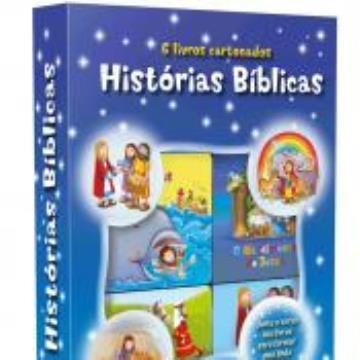 Histórias Bíblicas (6 minilivros, quebra-cabeça)