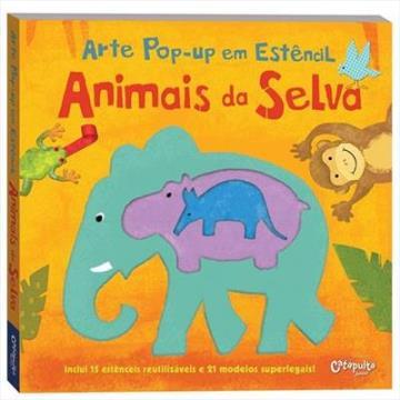 Arte Pop-up: Animais da Selva