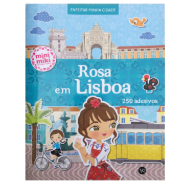 Rosa em Lisboa (Coleção minimiki)