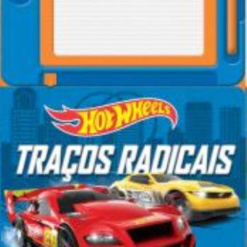 Hot Wheels Traços radicais (com Lousa magnética)