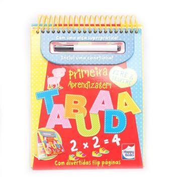 Happy Books - Vire e desvire -Primeira Aprendizagem Tabuada