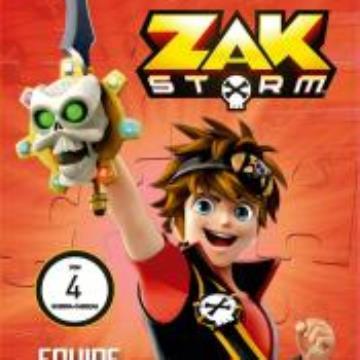 Zak Storm Equipe Imbatível (Com 4 quebra cabeças)