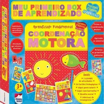 Meu primeiro box de aprendizado: Coordenação motora