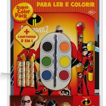 Super Color Pack - Os Incríveis 2 (DCL- Disney)