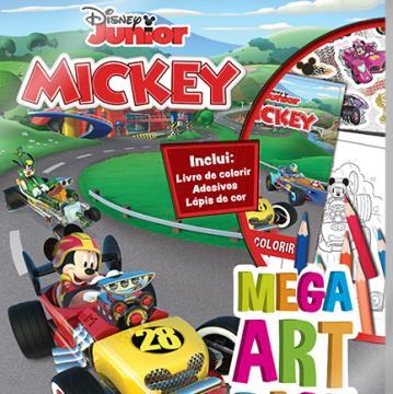 Mega Art Pack - Mickey aventuras sobre rodas (DCL-Disney)