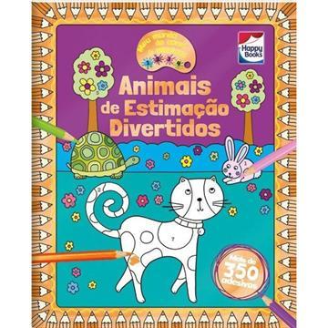 Meu mundo cores e adesivos: Animais de estimação