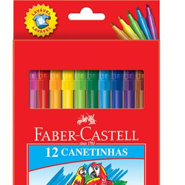 Faber Castell Canetinhas Colors 12 cores