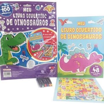 Meu livro divertido de dinossauros
