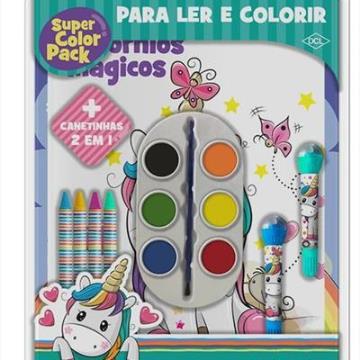 Super Color Pack Unicórnios Mágicos
