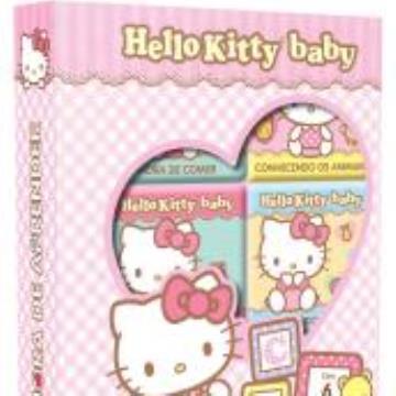 Hello Kitty Baby - Hora de Aprender (6 minilivros, quebra-cabeça)