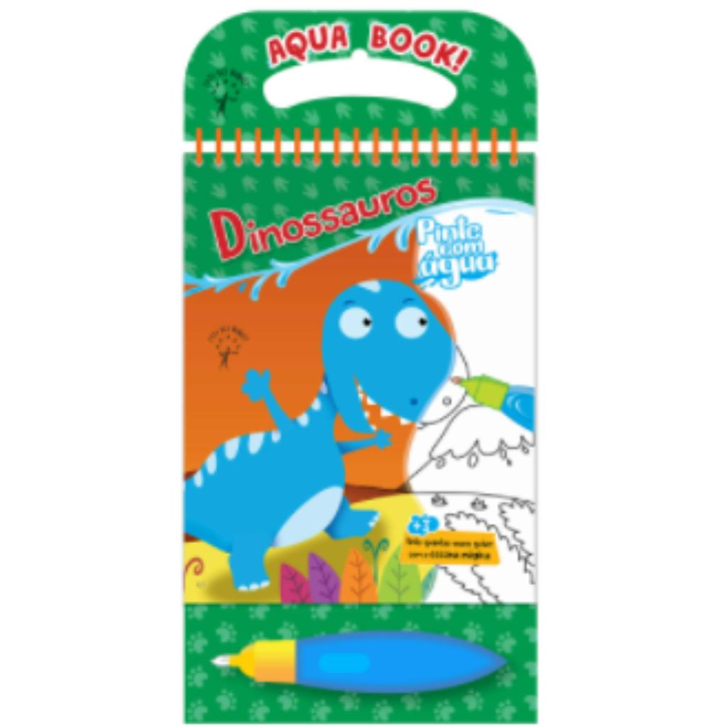Aqua Book - Dinossauros (pinte com água)