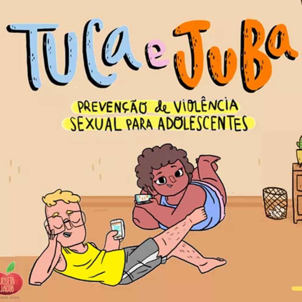 Tuca e Juba: ensinando consentimento para adolescentes