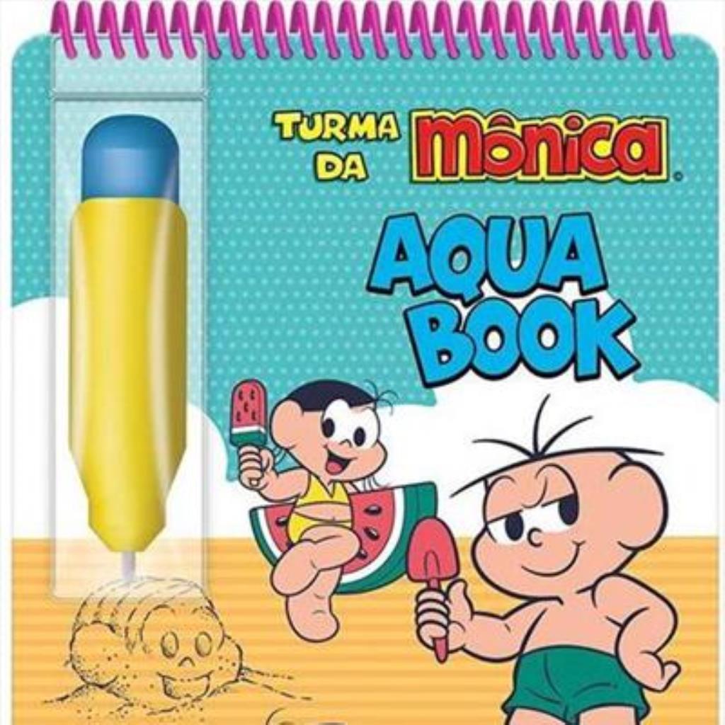 AQUA BOOK TURMA DA MÔNICA