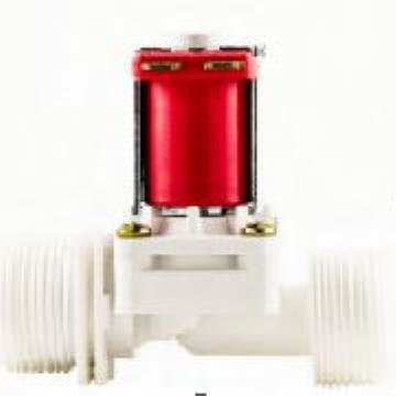Válvula Solenoide Para Água 24VDC 180° (¾ X ¾) VA NA 04