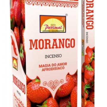 INCENSO  MORANGO (AMOR, AFRODISÍACO) PARIMAL INDIA  8901184107269
