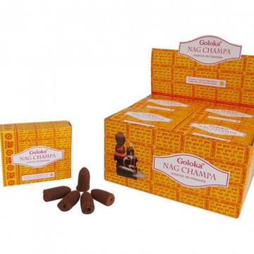 INCENSO CASCATA NAG CHAMPA C 10 CONES (INDIA) 8906051436381