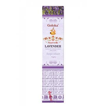 Incenso Lavender Ayurvedic Goloka
